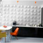 Использование в дизайне интерьеров гипсовых 3D-панели