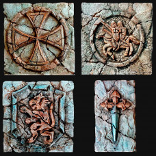Декор рыцарской символики