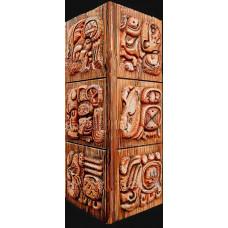 Декор Майя барельеф, угловое оформление