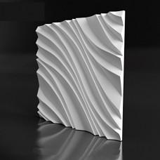 «WIND» 3д панели  для стен из гипса