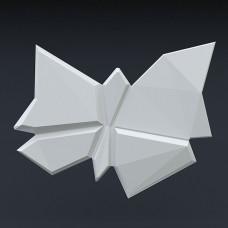 «BUTTERFLY-1» 3д гипсовые панели для стен