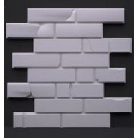 «Кирпич класический» стеновые панели в интерьере