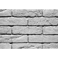 Белый Шамотный кирпич декоративный гипосовый на стену