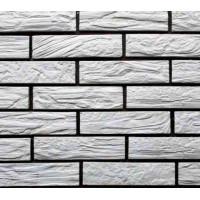 Белый Древес- облицовочная плитка под кирпич для внутренней отделки
