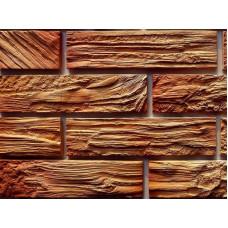 Древес- облицовочная плитка под кирпич для фасадной отделки
