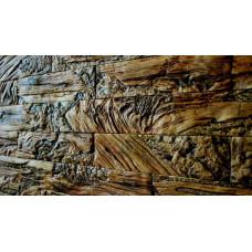 Древес- облицовочная плитка под кирпич для внутренней отделки